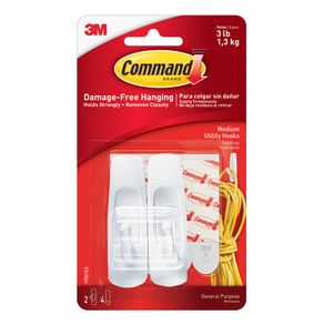 Gancho-Command-Blanco-mediano-pack-x-2