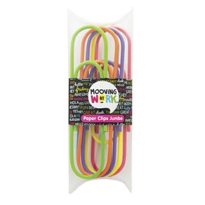 Clips-Jumbo-color-fluo-multicolor---Pack-x-6-unidades.
