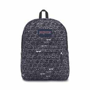 Mochila-Jansport-Superbreak-Smile-Gris