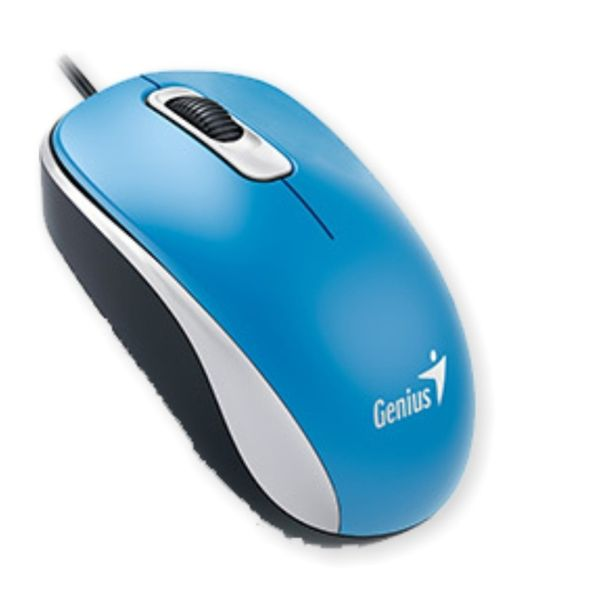 Mouse-Genius-USB-Optico-con-cable-DX-110---Azul