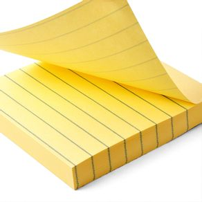 Notas-Adhesivas-3M-Post-It-rayadas-amarillo-canario