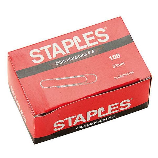Clips-metalicos-Staples®-N°4-Pack-x-100