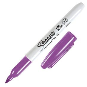 Marcador-indeleble-Sharpie-fino-Violeta