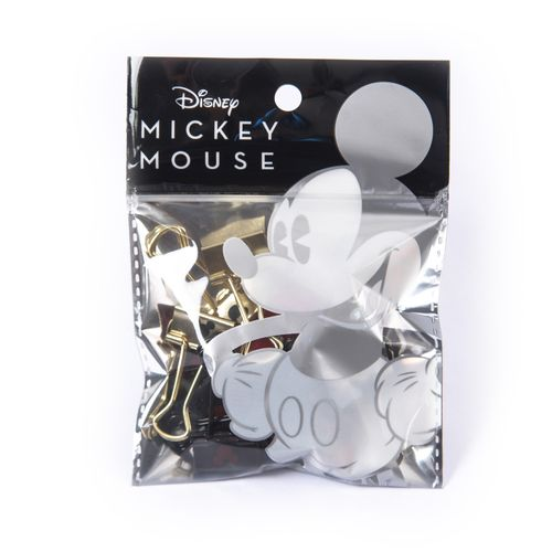 Binder-Clips-Mickey-Mouse--19-mm.-Presentacion--pack-x-12-unidades.